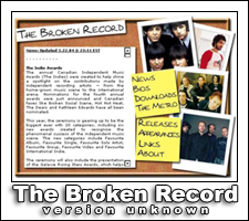 The Broken Record